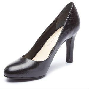 FRANCO SARTO caspian black closed toe heels